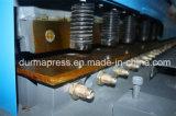 Máquina de corte hidráulica Durmapress QC12y-6 * 3200 com controlador E21s, Máquina de corte de perfil CNC, Máquina de cortar barra de ferro