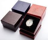Spezialpapier-Deckel-Geschenk-Verpackungs-Uhr-Kasten, Papieruhr-Kasten für Förderung