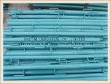 Tipo galvanizado carriles del tubo del cuadrado del eslabón giratorio de protector del andamio para la construcción