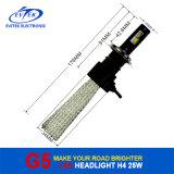 8-32V DC 25W 3200lm G5 Fanless H4 LED 헤드라이트, Ce& RoHS 증명서를 가진 자동 헤드라이트