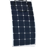 Énergie solaire semi flexible plus vendue de panneau solaire du soldat de marine 100W 18V 36V