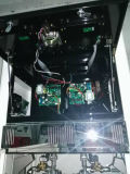 Doubleur Temers de station de pompe à essence quatre écrans LCD