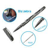 Penna di Ballpoint 2 in 1 penna dello stilo con la zebra di affari per la strumentazione del comitato di tocco