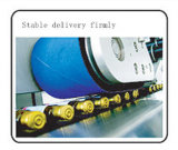 Автоматическая горизонтальная устно малая машина для прикрепления этикеток ярлыка стикера бутылок