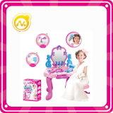 Meisjes Pretend Toy Plastic Dresser Tafel met Beaty Set Toy