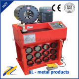 Máquina que prensa del manguito hidráulico del control del PLC del CE