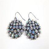 Conjunto colorido de la joyería de la manera del collar de la pulsera del pendiente de las piedras del nuevo diseño