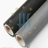 Black Grey Color Plastic Coated Fiberglass Window Screen