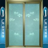 Porte s'arrêtante de offre d'aluminium de la plus grande usine de Foshan