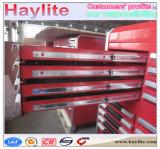 Шкаф инструмента пользы гаража вагонетки