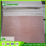 Contre-plaqué commercial chaud de la vente 3.6mm/4.5mm/5.2mm, Bintangor/usine rouge de Chengxin de contre-plaqué de Meranti/Okoume