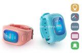 セリウムD5 GPSの追跡者WiFiはSosの子供のスマートな腕時計を取付ける