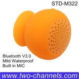 Locutor sin hilos con el micrófono, locutor móvil del lechón del ordenador portátil de la PC, mini caja portable de Bluetooth V3.0 de sonidos
