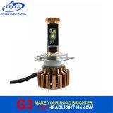 farol do diodo emissor de luz do carro do poder superior H4 da microplaqueta de 40W EUA C Ree