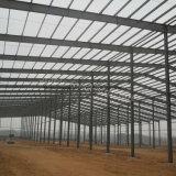 Edifício pré-fabricado personalizado da construção de aço para a oficina