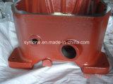 Caixa de engrenagens da carcaça de areia com vermelho pintado