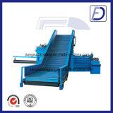 Автоматический горизонтальный Baler пластмассы неныжной бумаги