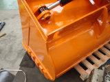 Cubeta de lama limpa da massa da inclinação da máquina escavadora