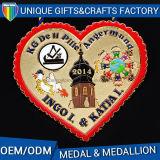 La medaglia mette in mostra il medaglione del metallo per i regali promozionali dei mestieri