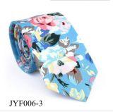 Cravatta floreale casuale del cotone di stampa degli uomini all'ingrosso