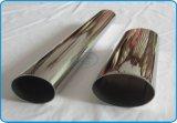 Tubos ovales elípticos del acero inoxidable