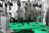 Embotelladora del agua de soda para las latas