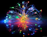 Luz nova no frasco, luz da corda do diodo emissor de luz 2016 de Natal