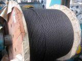 Graisse A3 tournant non le câble 35X7 de corde de fil d'acier d'Ungalvanized