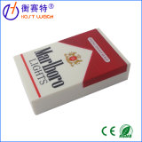 Rectángulo Pocket electrónico del cigarrillo del oro de la escala de la joyería de Digitaces mini
