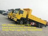 Dumper de tombereau de camion à benne basculante des roues HOWO 8X4 de Sinotruk 12, 50-60 tonnes, 336HP, Rhd/LHD avec un dormeur, euro II