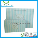 Sac de papier estampé par coutume empaquetant avec la vente en gros de logo