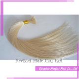 加工されていないブラジルプラチナハニーブロンドのバージンの毛