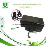 24V6ah de Batterij van Ebike van de Leeuw van de fles voor Elektrische Fiets Moutain