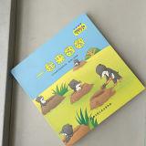 Livre de prise découpé avec des matrices par impression de livre de panneau d'enfants de qualité