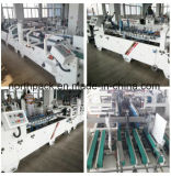 AGDAutomatic Prefolding en de Machine van Gluer van de Omslag van het Slot van de Bodem