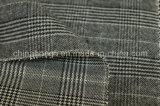 O fio tingiu a tela poli/rayon, único tomado o partido escovado, a manta, 250GSM