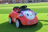 Hallo scherzt Miezekatze-Karikatur elektrisches Auto, RC Auto, Reiten-auf Auto