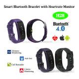 Bracelet Bluetooth intelligent avec moniteur de fréquence cardiaque (H28)