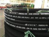 Stahldraht-umsponnener hydraulischer Schlauch 2sn