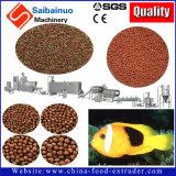 Производственная линия завода штрангпресса еды питания лепешки рыб делая машину