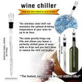 De draagbare Plastic Koelere Stok van de Wijn