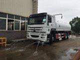 De Vrachtwagen van het Water van Sinotruk HOWO 6X4 met Volume 20, 000liters - 25, 000liters