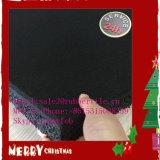 Suelo de sala de pesas / Crossfit Goma Gimnasio de piso negro con EPDM Speckle