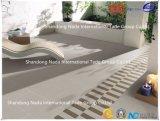 600X600建築材料のISO9001及びISO14000の陶磁器の薄い灰色の吸収1-3%の床タイル(G60407)