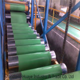 El color verde G550 prepintó por completo difícilmente bobinas galvanizadas del acero PPGI