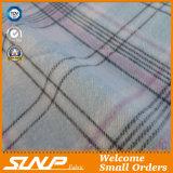 Tessuto di Shirting della flanella di cotone della saia