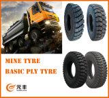 Neumático diagonal del neumático 700-16 del carro de mina de la alta calidad