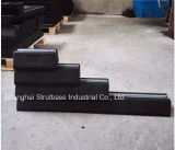 Bloco de telhado de borracha C / W 41X21 Channel Steel