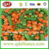 Légumes mélangés gelés avec du maïs de raccord en caoutchouc de becs d'ancre