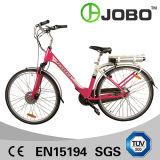 700cアルミニウム都市Bike後部ラック李イオン電池を持つ電気バイク36V 10ahの女性